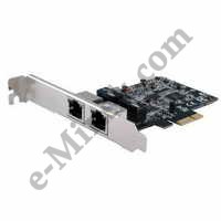 Сетевая карта PCI-Ex1 STLab N-380 Dual Port Gigabit LAN Card, КНР